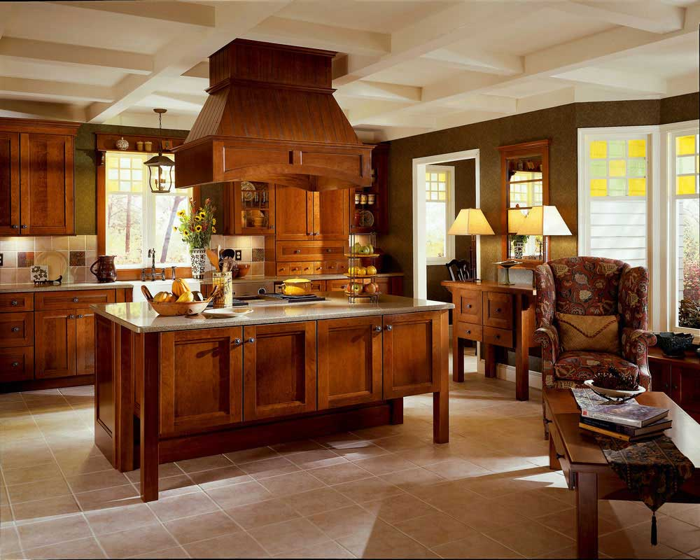Kraftmaid cherry cabinets home furniture design - Kraftmaid kitchen cabinets ...