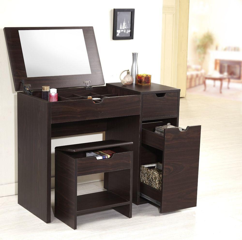 Lighted Vanity Makeup Desk Home Furniture Design