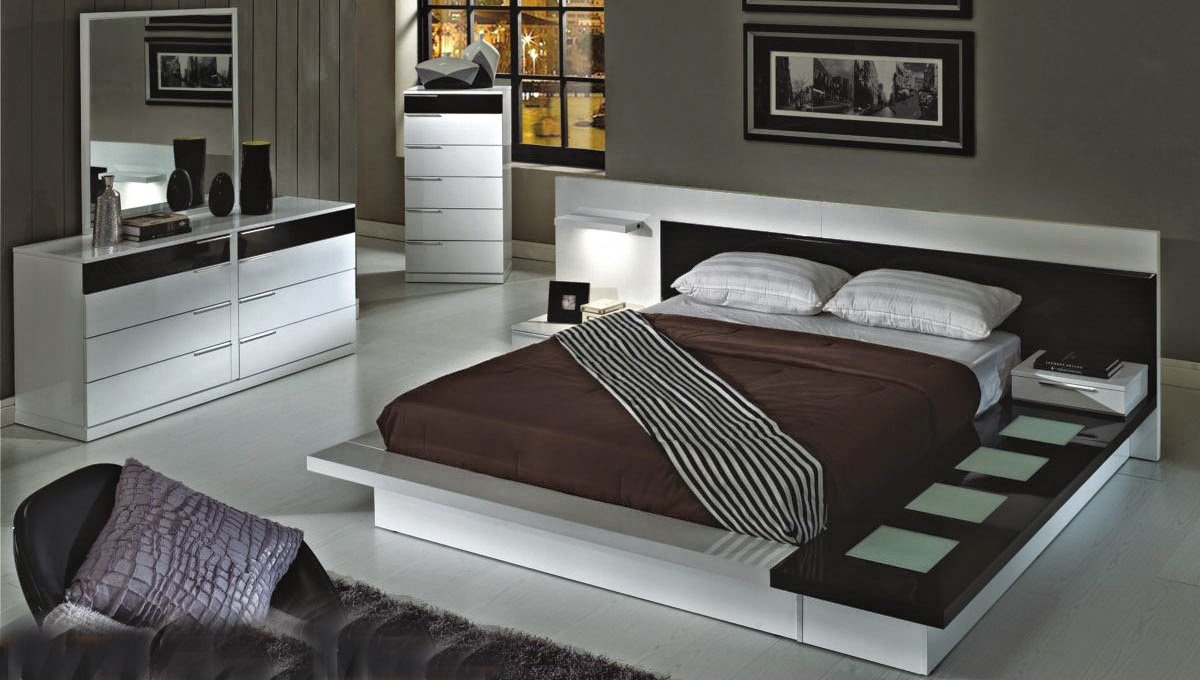 Modern king bedroom sets home furniture design for New style bedroom sets