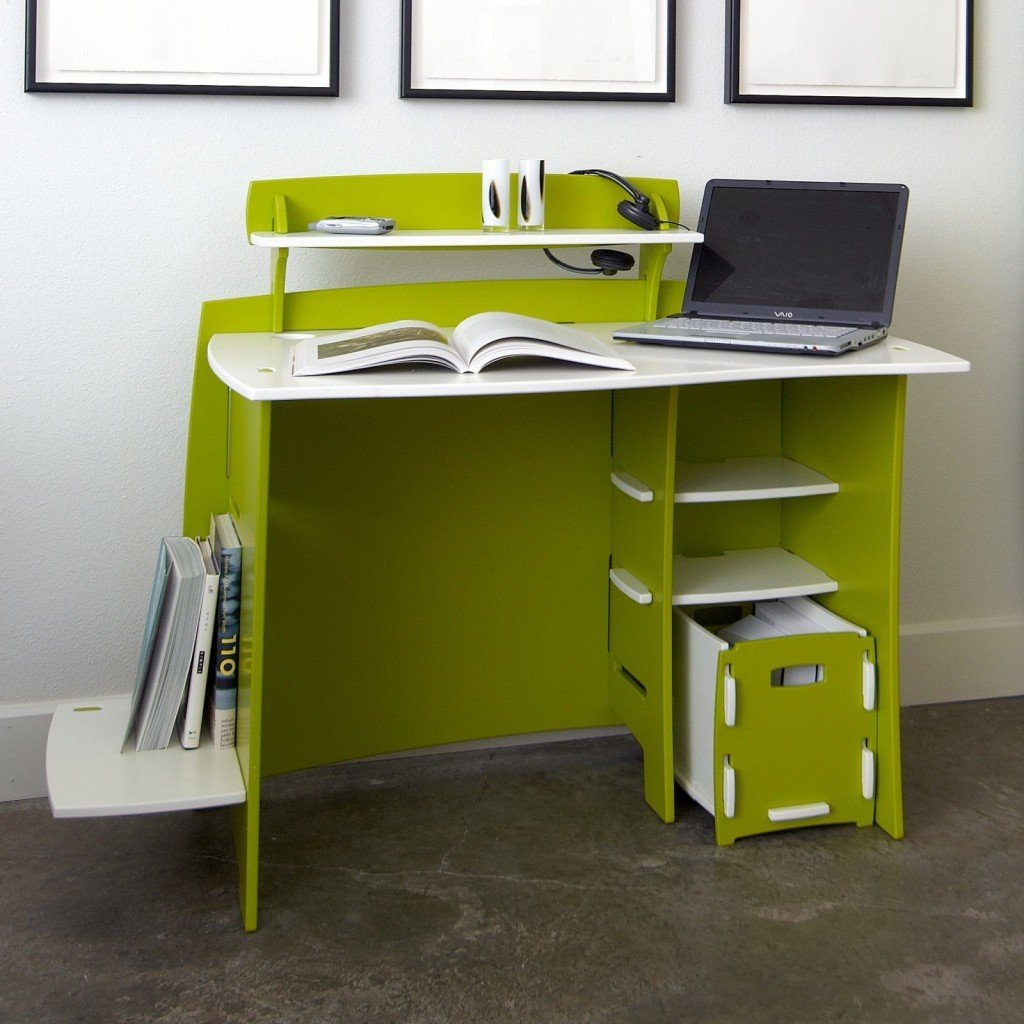 Modern study desk home furniture design - Pieces of furniture that can keep your home office organized ...
