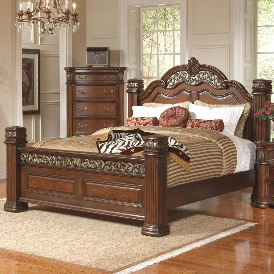 oak bedroom sets king size beds home furniture design