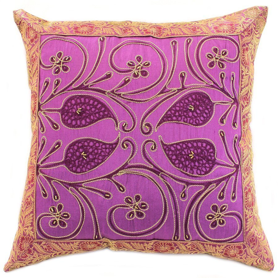 Purple Pillow Covers Home Furniture Design