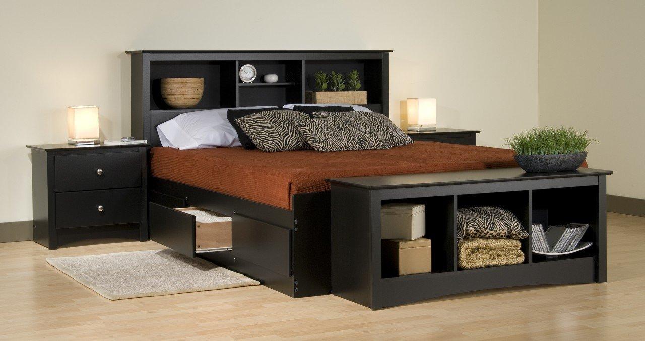 Queen size storage bedroom sets home furniture design - Queen size bedroom set with storage ...