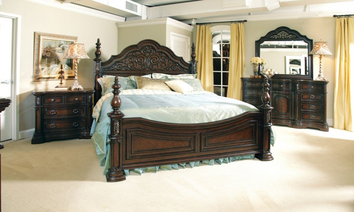 Used King Size Bedroom Set - Home Furniture Design