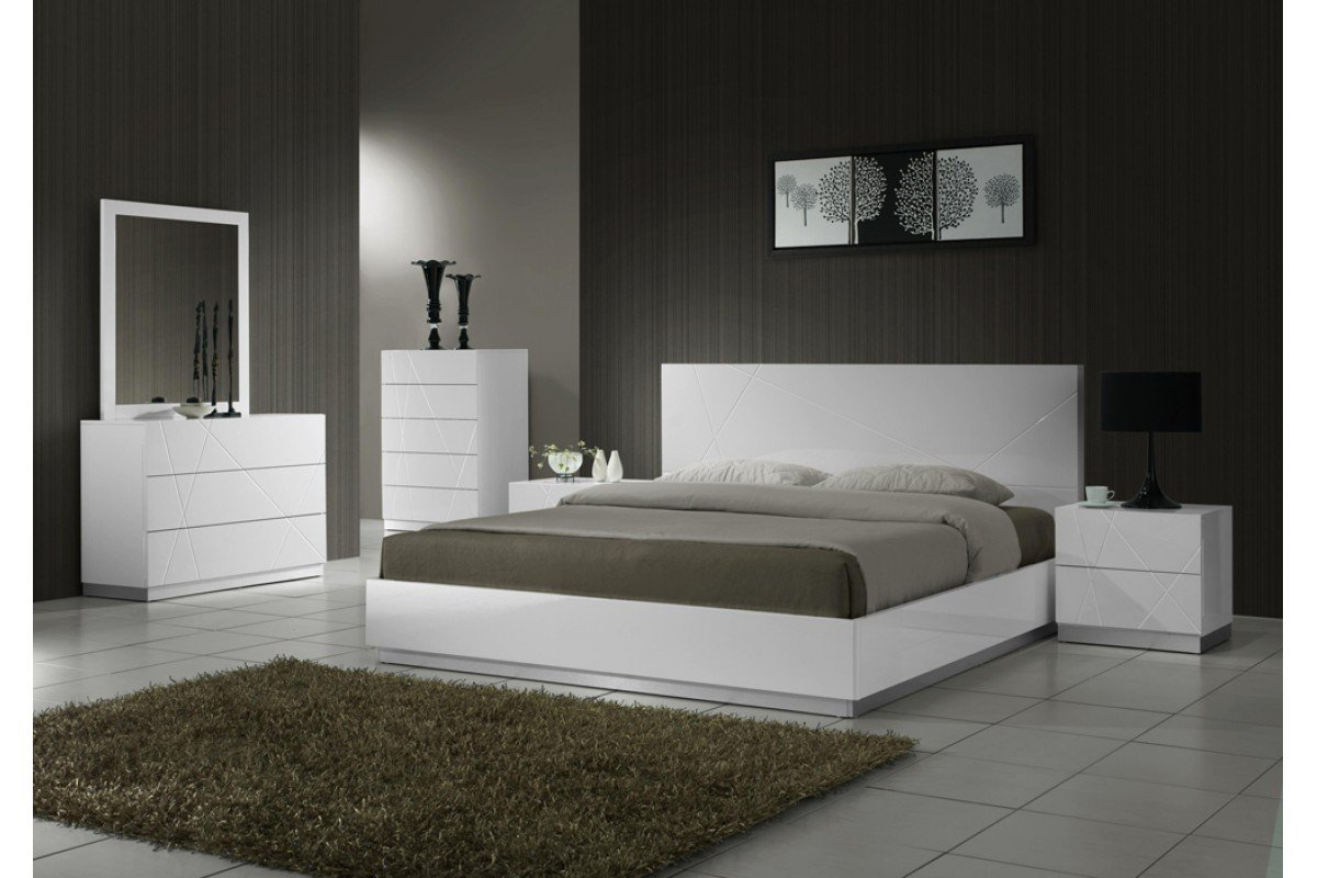 White King Size Bedroom Sets Home Furniture Design