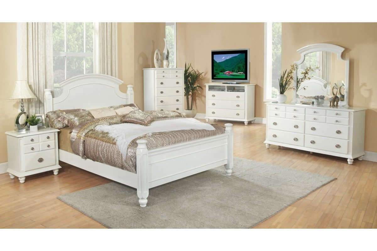 White queen size bedroom sets home furniture design for White queen bedroom set