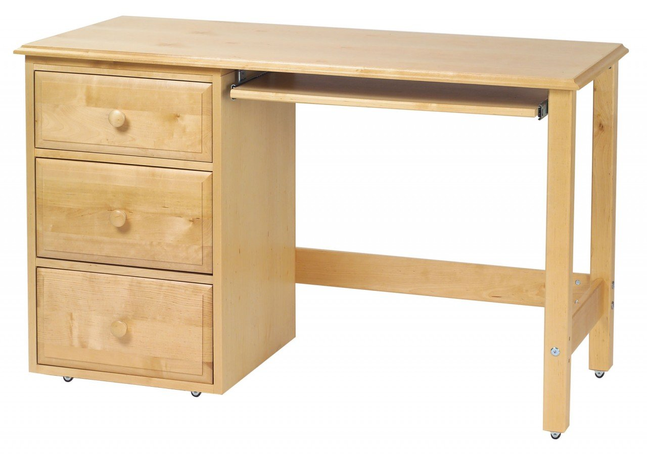 White Student Desk With Drawers Home Furniture Design