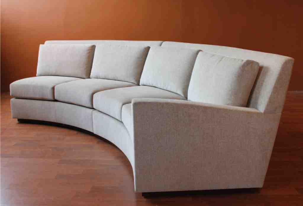Contemporary Curved Sectional Sofa Home Furniture Design