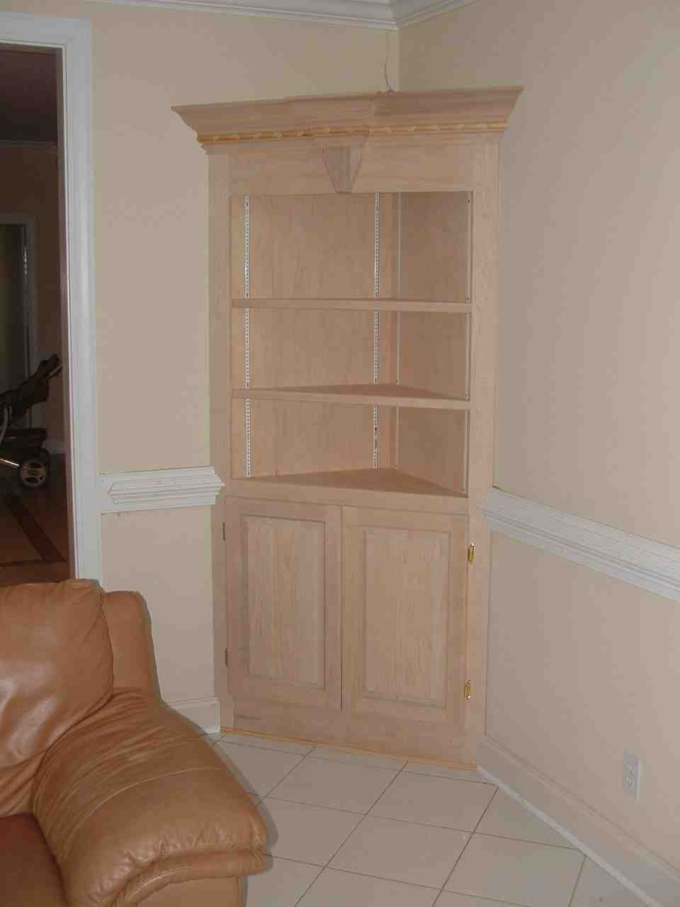 Corner media armoire home furniture design for Corner bedroom armoire