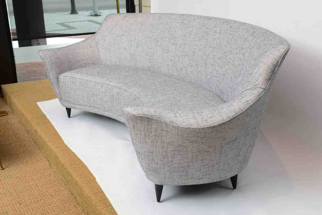 Curved Back Sofa Home Furniture Design