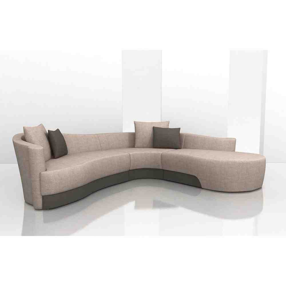 curved sectional sofa with chaise home furniture design. Black Bedroom Furniture Sets. Home Design Ideas