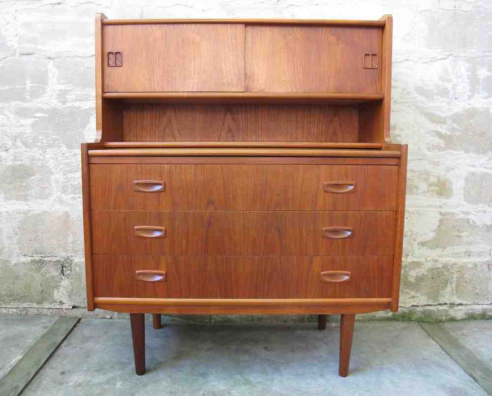 danish modern secretary desk home furniture design