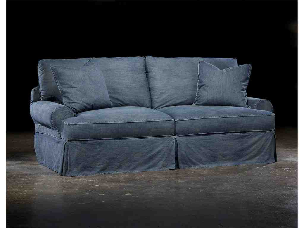 Denim sofa covers home furniture design Denim loveseat