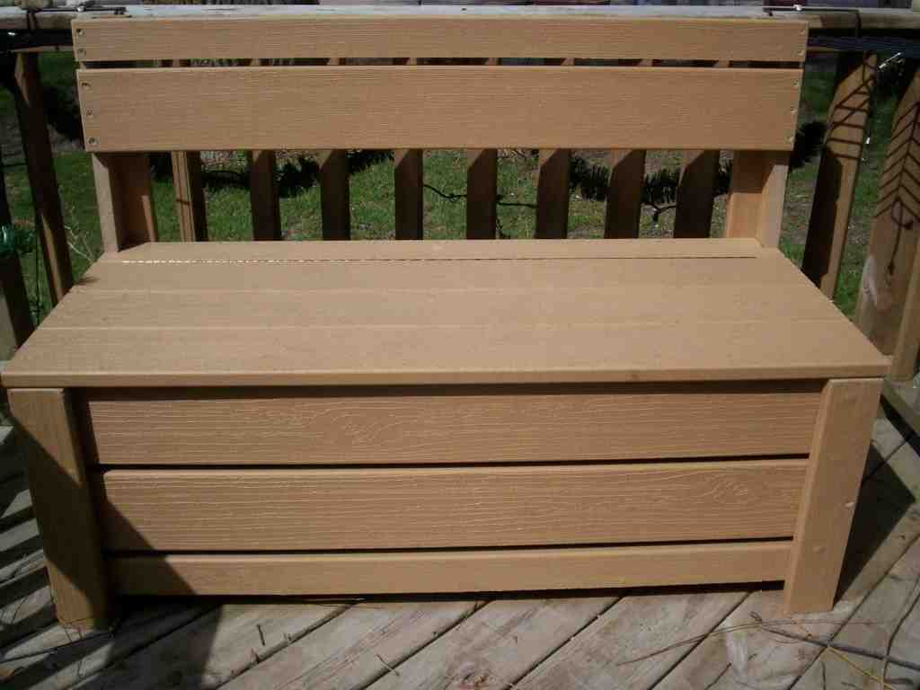 Diy Bench Seat with Storage - Home Furniture Design