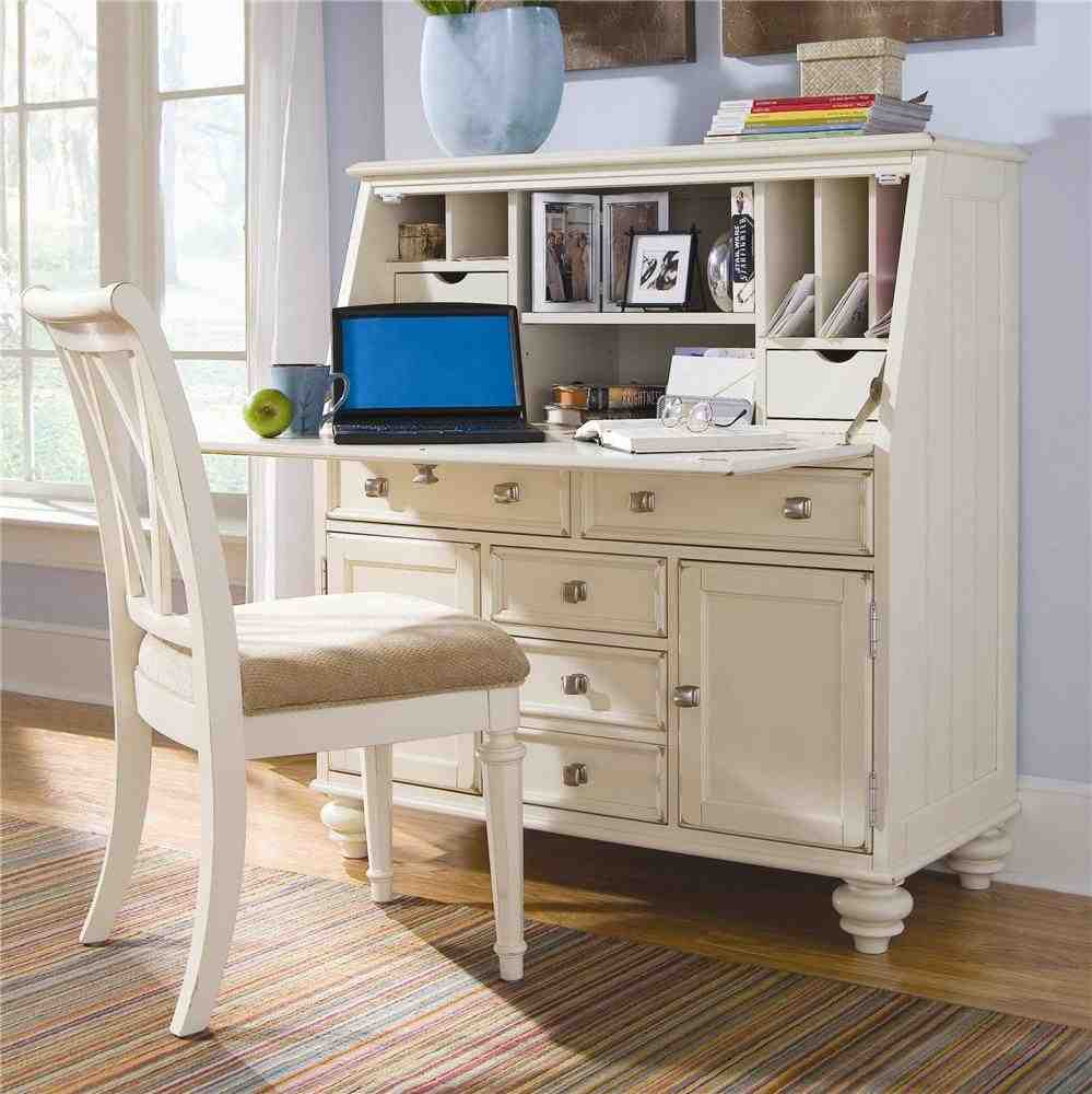 Drop Down Secretary Desk Home Furniture Design