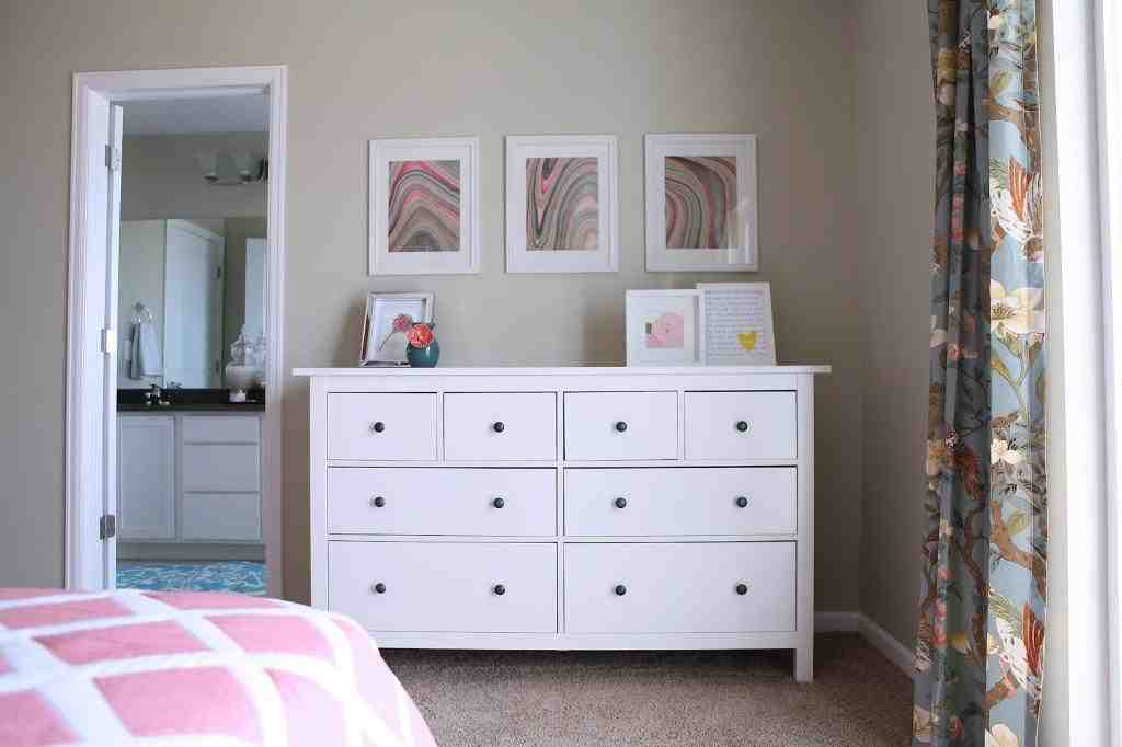 Ikea hemnes dresser blue home furniture design for Ikea blue bed