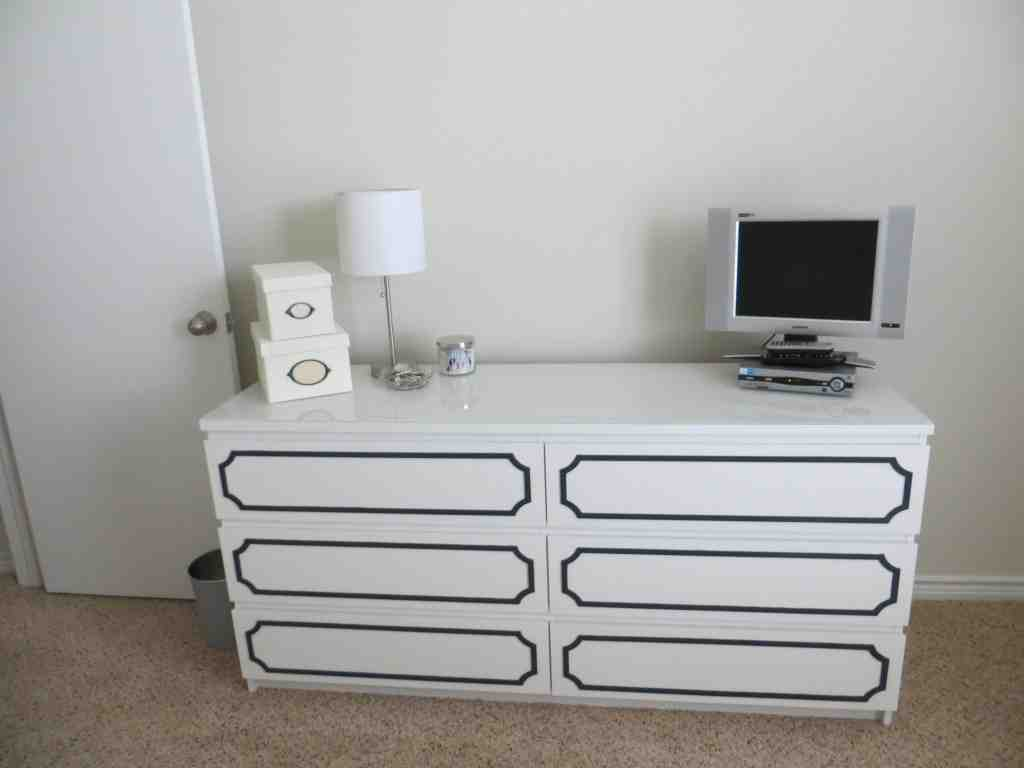 Ikea Malm Dresser Hack Home Furniture Design