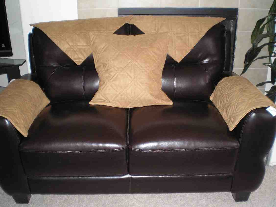 Leather Sofa Arm Covers Home Furniture Design