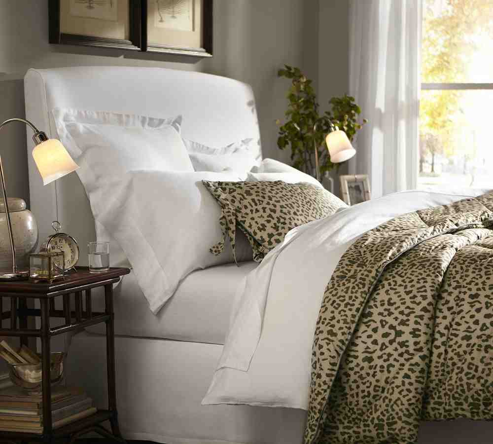 leopard bed set home furniture design