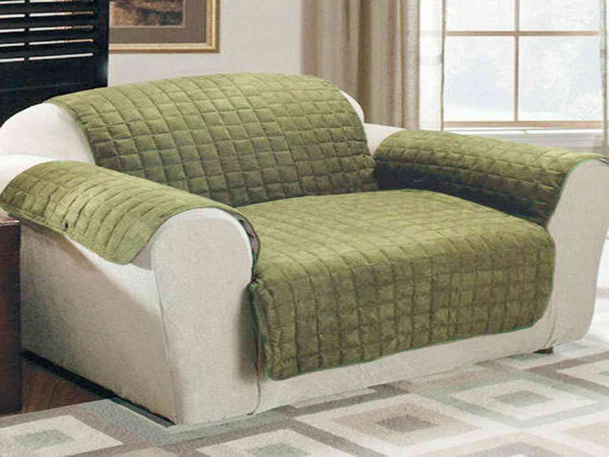 Microfiber Sofa Cover Home Furniture Design