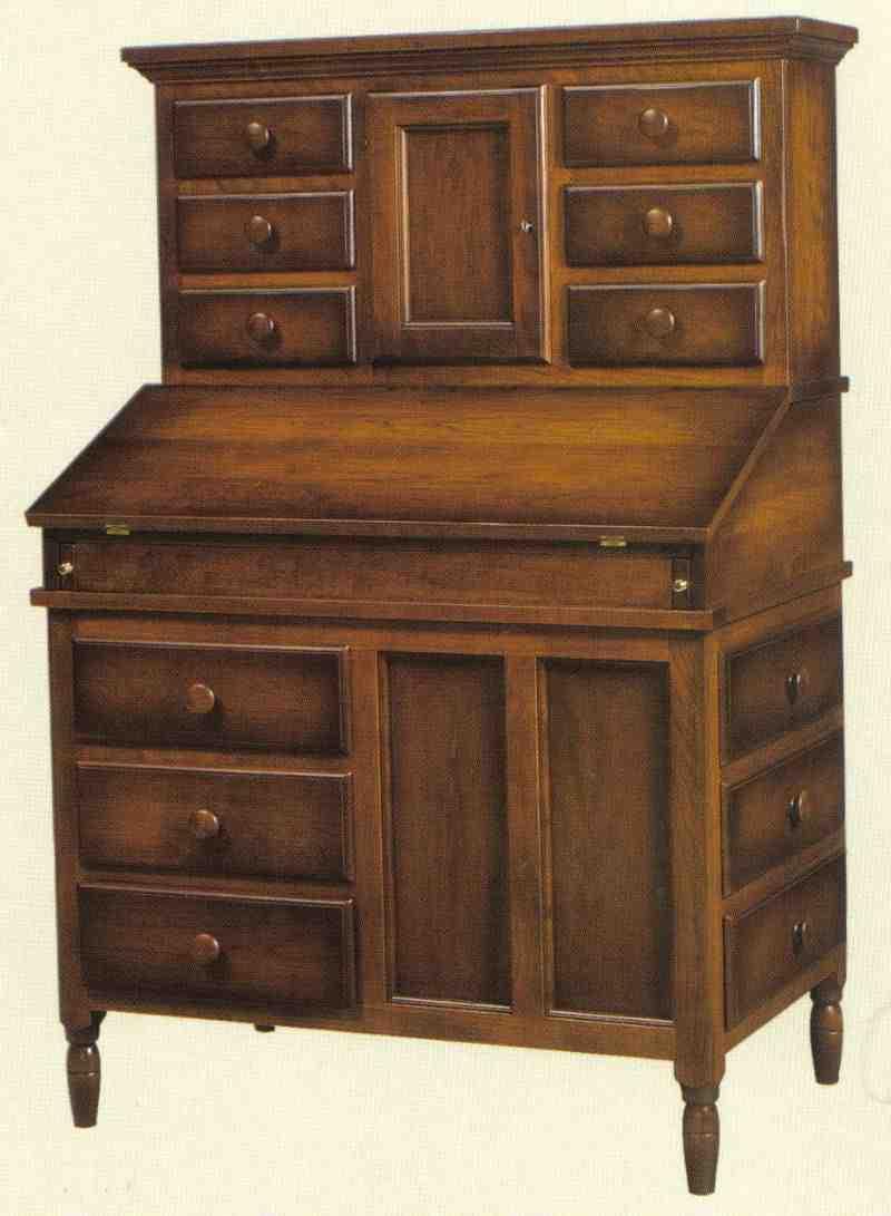 Mission Secretary Desk Home Furniture Design