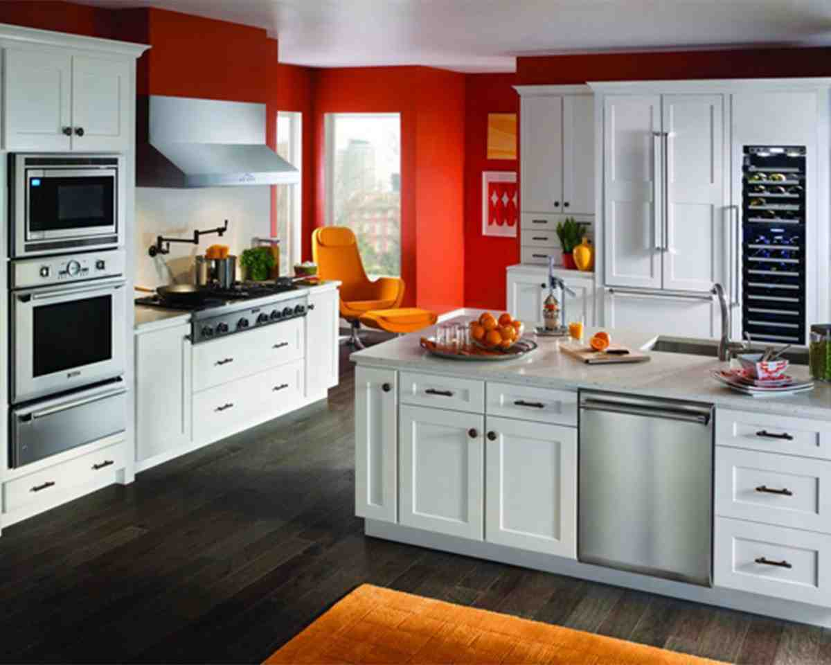 Most popular cabinet color home furniture design Modern kitchen design trends 2014