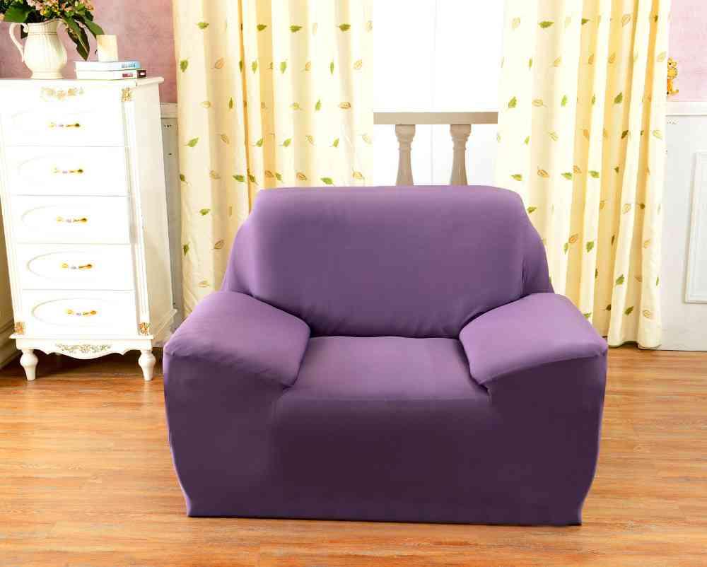 Purple Sofa Cover Home Furniture Design