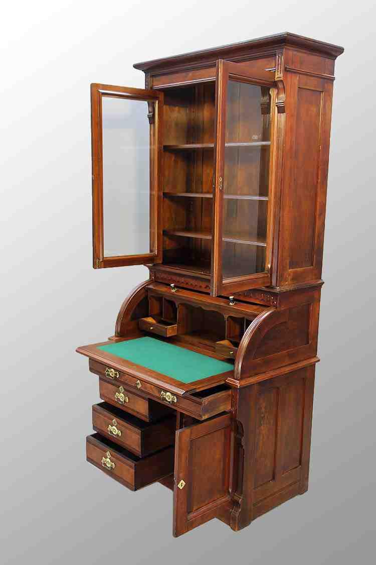 Secretary Desk Bookcase Home Furniture Design