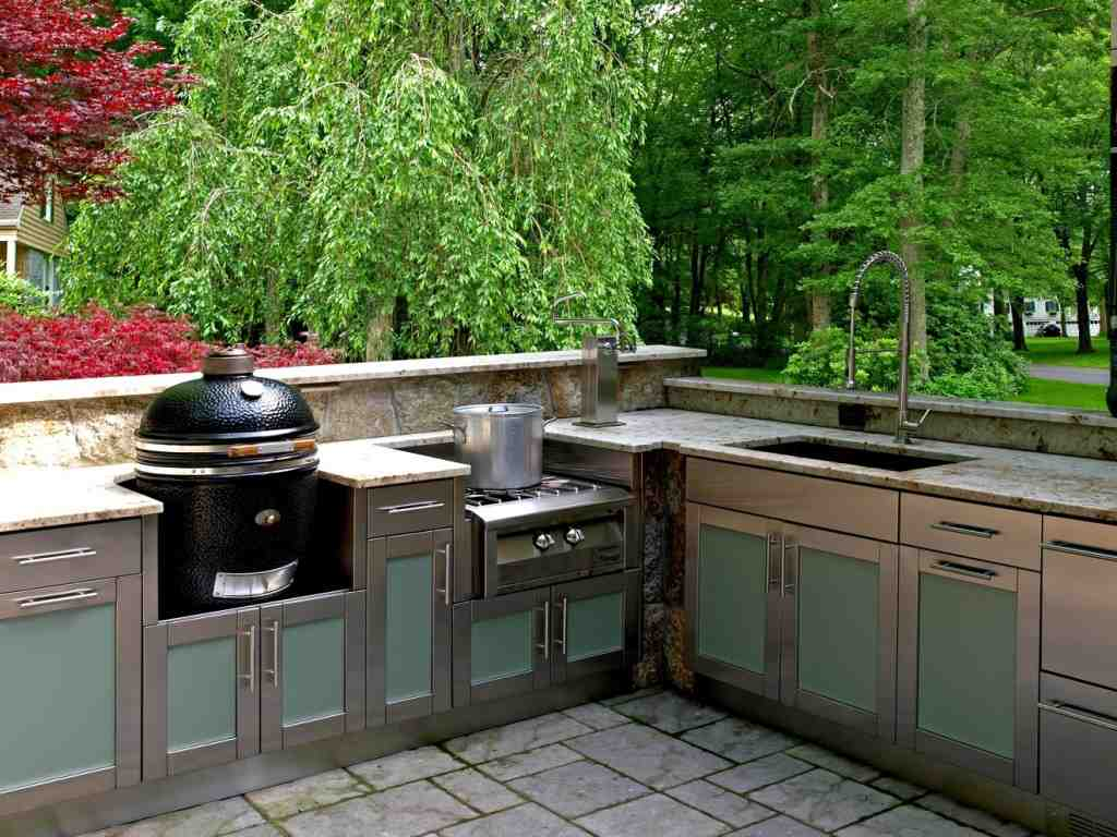 Stainless Steel Cabinets for Outdoor Kitchens - Home ...