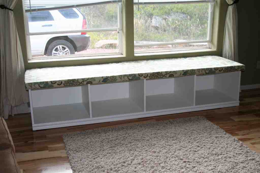 Window Seat Storage Bench Plans Home Furniture Design