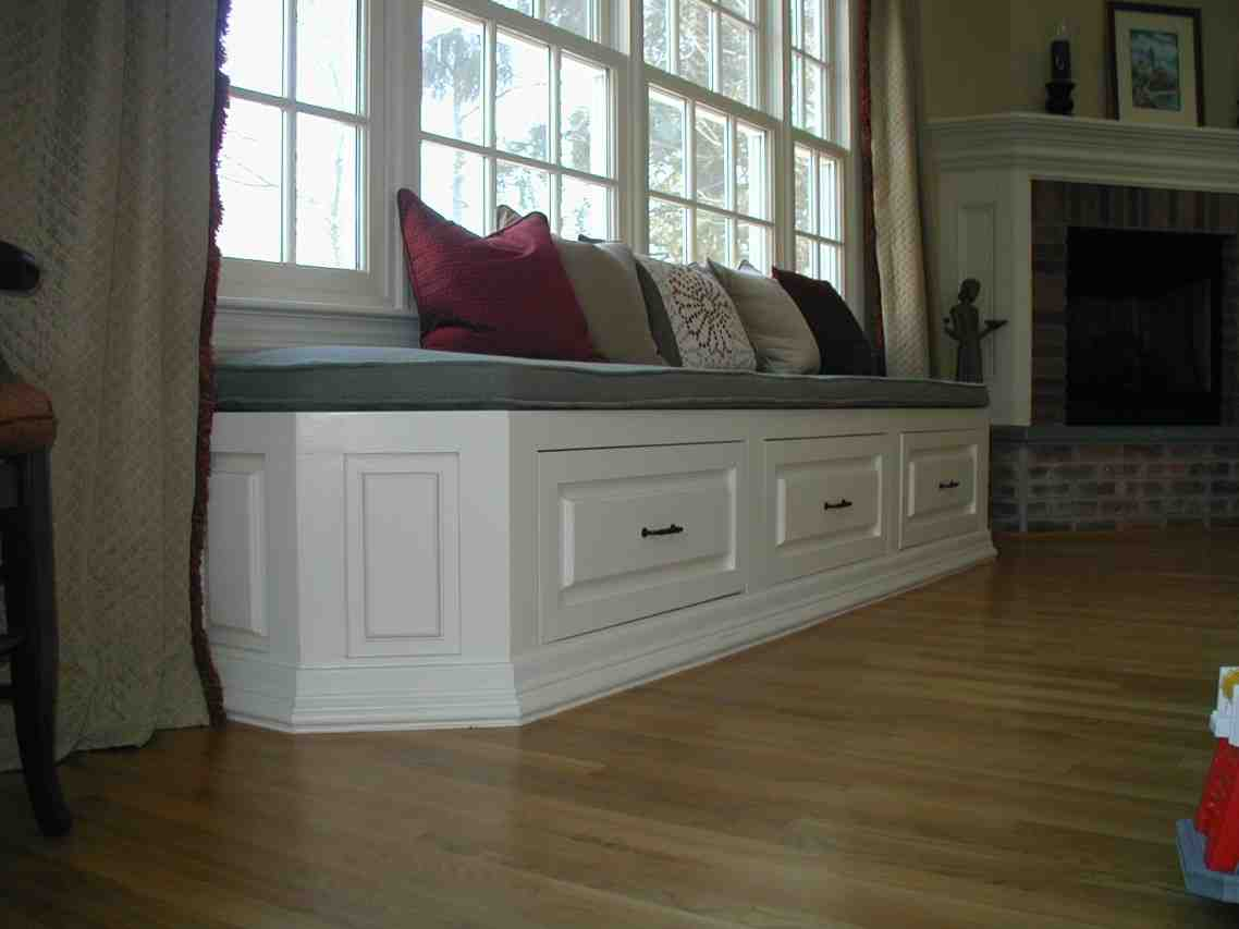 Window Seat Storage Bench Home Furniture Design
