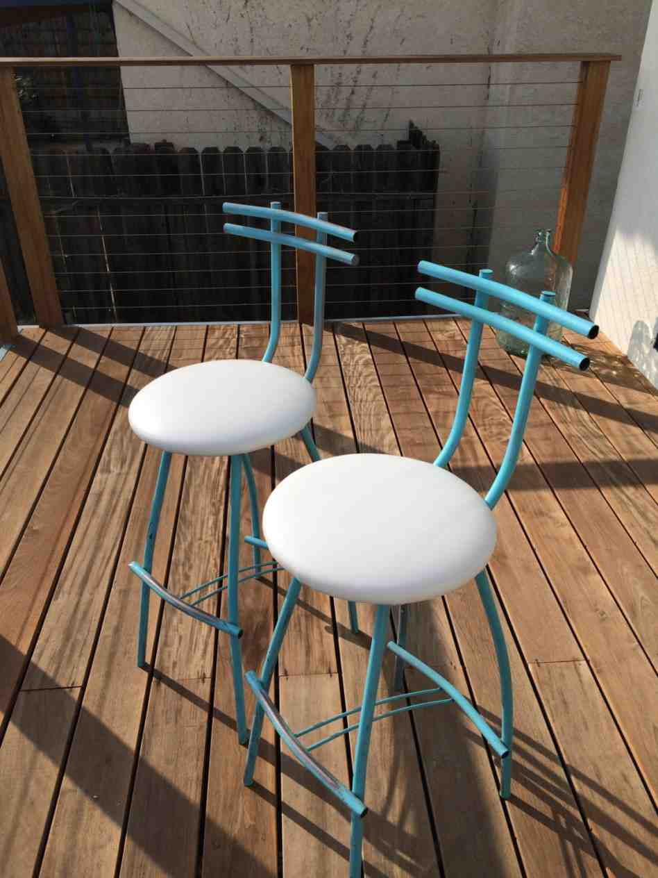 Bar Stool Cushions With Ties Home Furniture Design