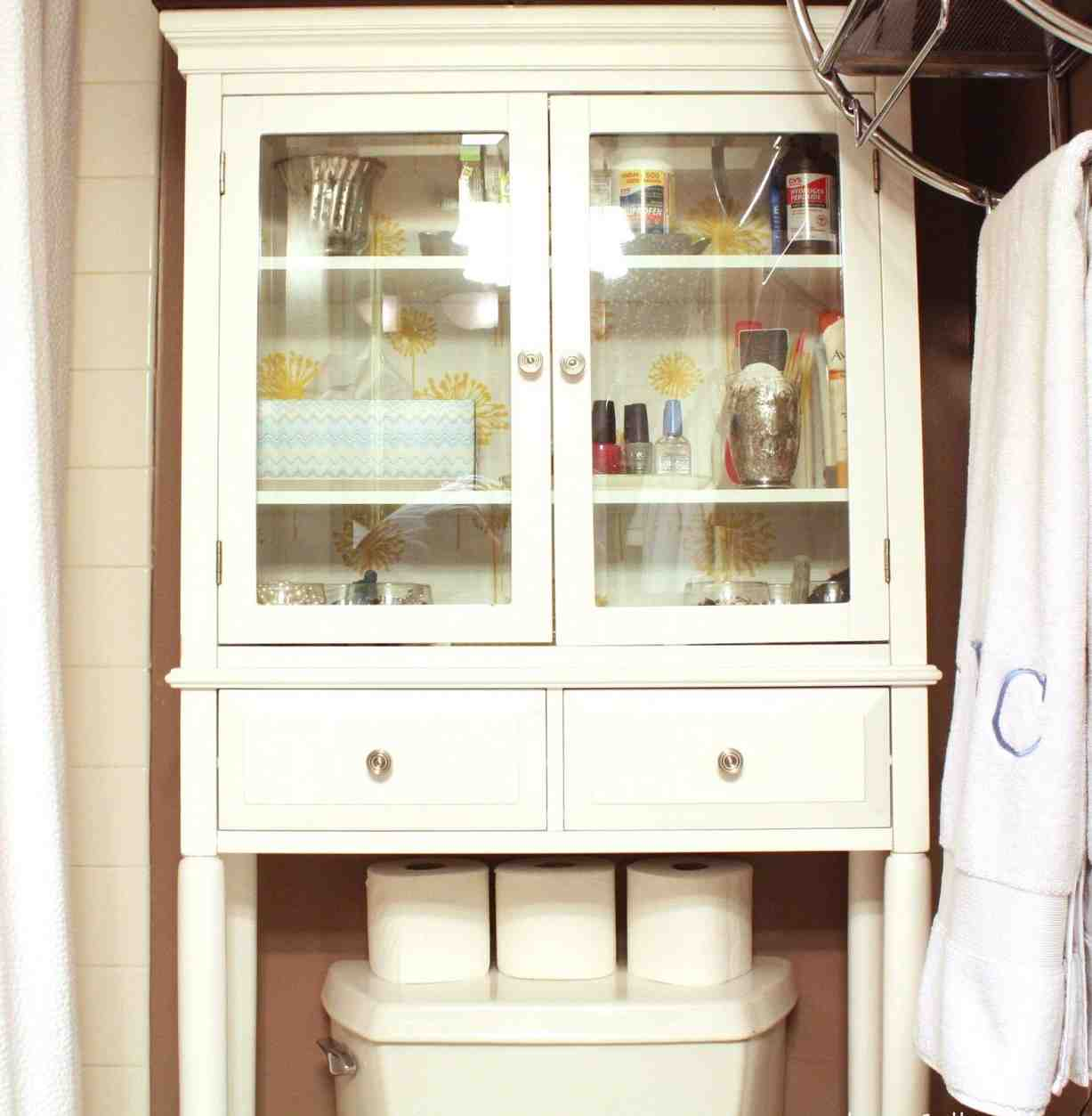 Bathroom Storage Cabinet Toilet 28 Images White Bathroom Cabinet Wood Space Saver Toilet
