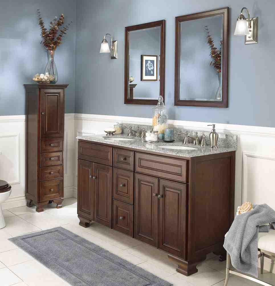 Bathroom cabinet color ideas home furniture design - Colorful cabinet designs for bathroom ...