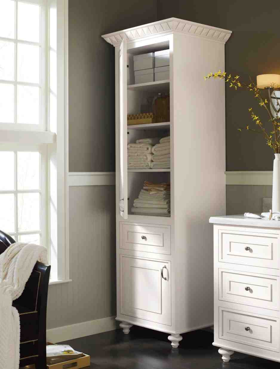 Bathroom linen storage cabinets home furniture design for Bathroom cabinet ideas for small bathroom