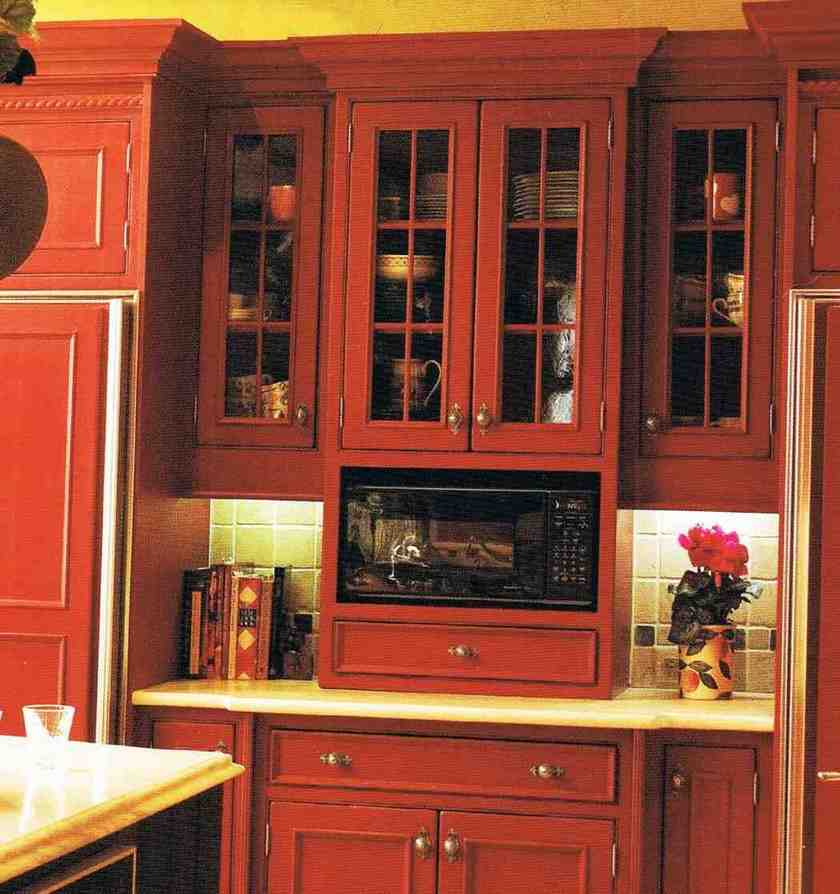 Cabinet Depth Microwave Home Furniture Design