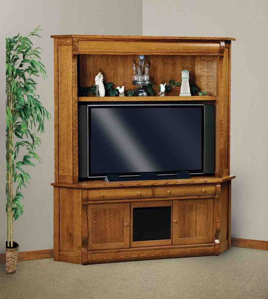 Corner tv armoire for flat screens home furniture design for Armoire tv