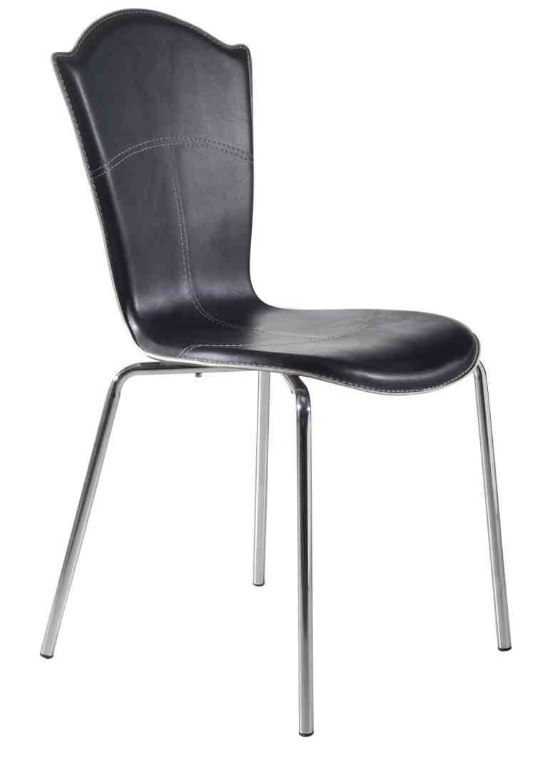 dining chairs with metal legs home furniture design. Black Bedroom Furniture Sets. Home Design Ideas