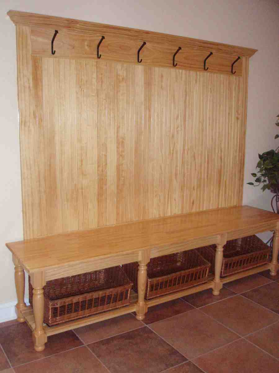 Diy Entryway Bench With Storage Home Furniture Design