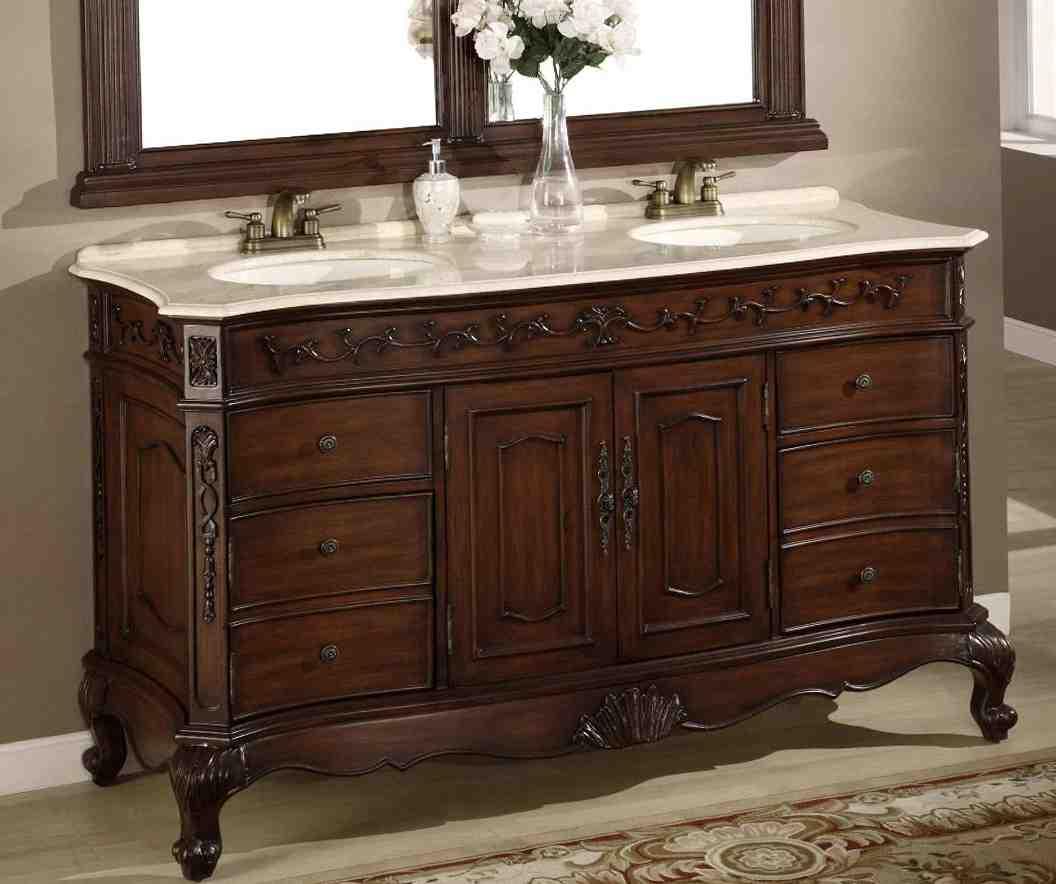 Bathroom Mirror For 60 Inch Vanity Home Furniture Design