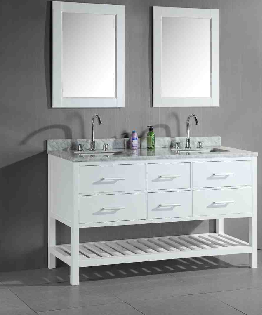 Double Sink Bathroom Vanity Cabinets Home Furniture Design
