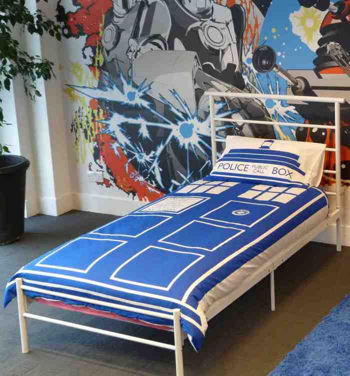 Dr who bed set home furniture design for Parure de lit moderne