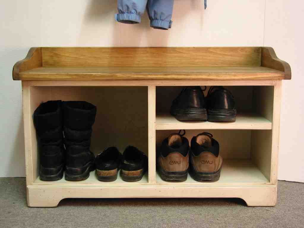 Entrance Bench With Shoe Storage Home Furniture Design