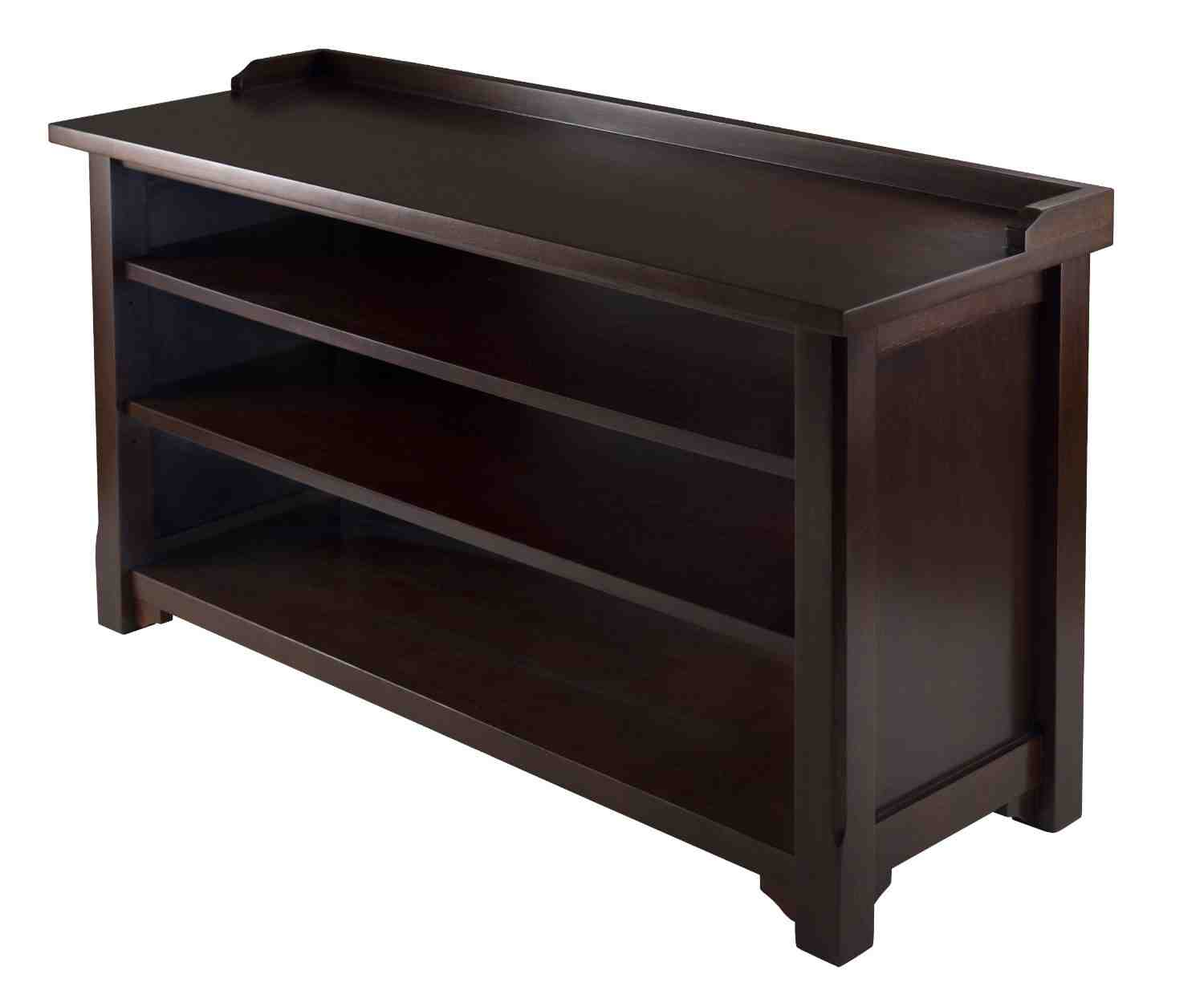 Entryway bench with shoe storage home furniture design Foyer storage bench