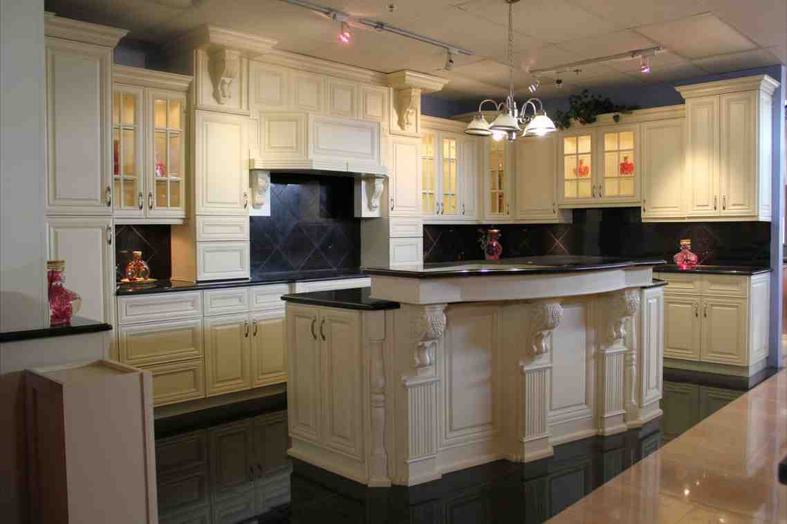 Floor model kitchen cabinets for sale home furniture design for Antique white kitchen cabinets for sale