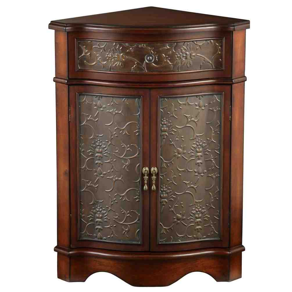 Hampton bay corner linen cabinet home furniture design for Corner cabinet