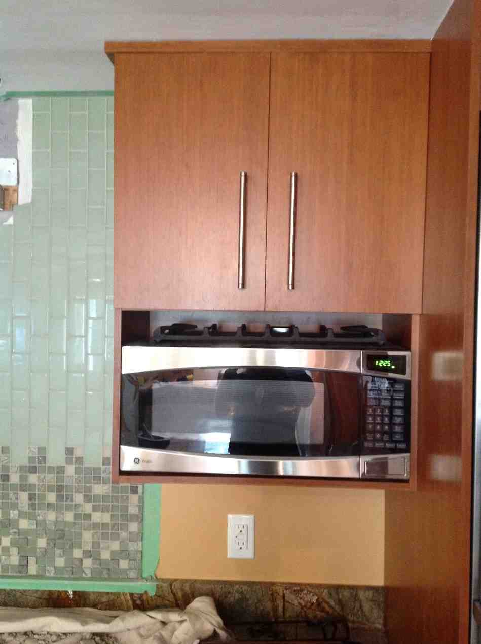 Kitchen Cabinet for Microwave - Home Furniture Design