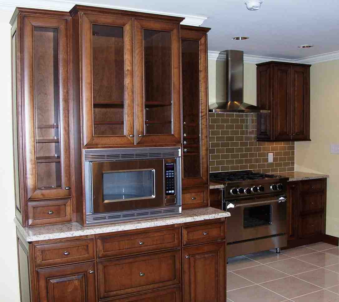 Kitchen Microwave Cabinet Home Furniture Design