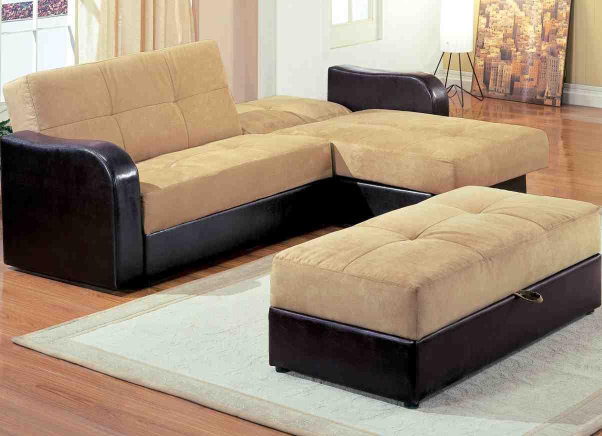 L Shape Sofa Bed Home Furniture Design
