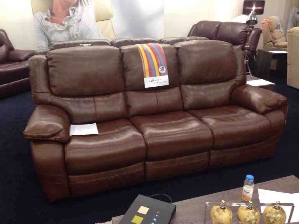 Lazy boy leather sofa reviews home furniture design Leather lazy boy sofa